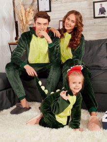 الديناصور الحيوان مطابقة الأسرة عيد الميلاد نيسيي منامة - الأخضر العميق أبي S