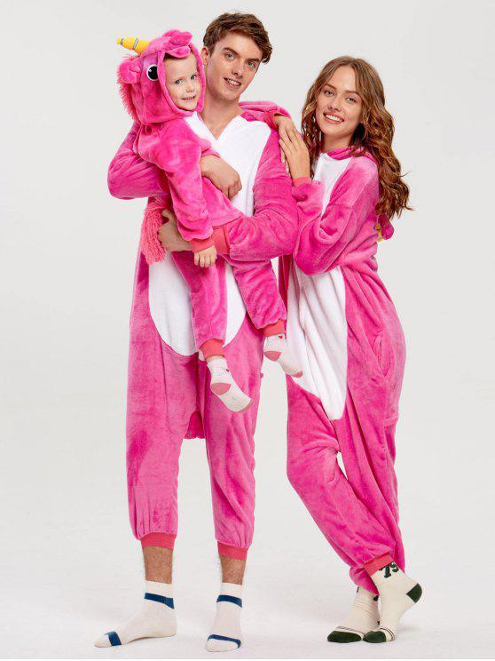 be79909f08 Unicorn Animal Matching Family Christmas Onesie Pajamas - Tutti Frutti Kid  130