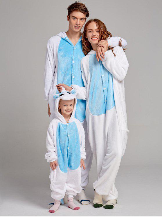Family Christmas Pajamas Blue.Unicorn Animal Family Christmas Onesie Pajamas