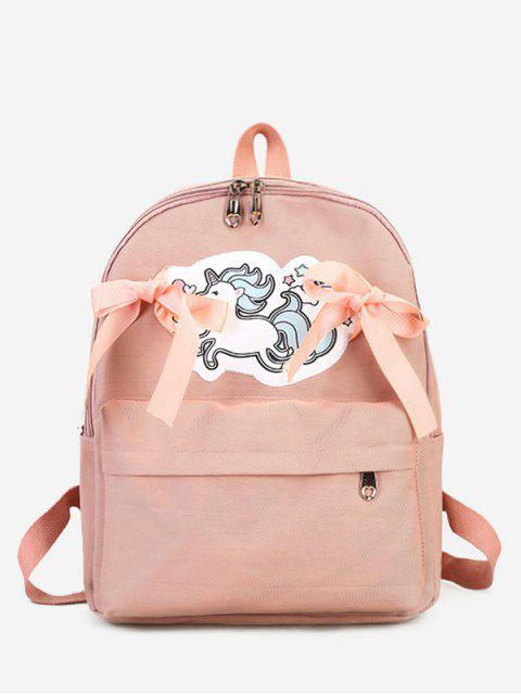 outfits Unicorn Ribbon Bow Backpack -   Mobile