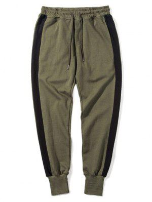 Side Striped Drawstring Sweatpants Men Clothes