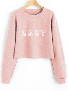 Drop Shoulder Letter Graphic Pattern Sweatshirt - Shallow