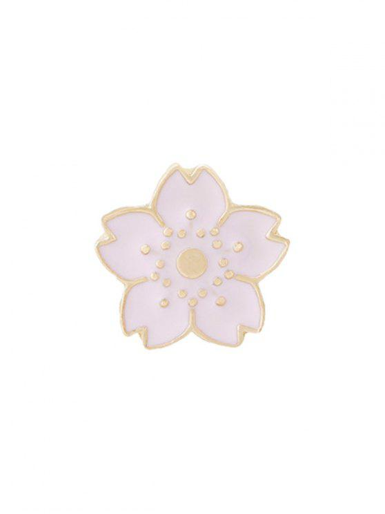 womens Tiny Cute Flower Brooch - PINK