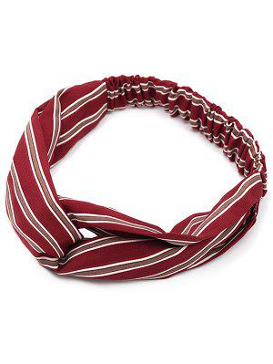 Striped Vintage Elastic Hair Band