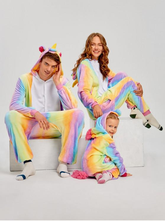 24% OFF  2019 Rainbow Unicorn Animal Family Onesie Pajamas In CREAM ... 55c3ebd78