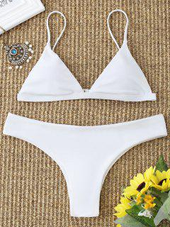 Cami Padded Bathing Suit - White L