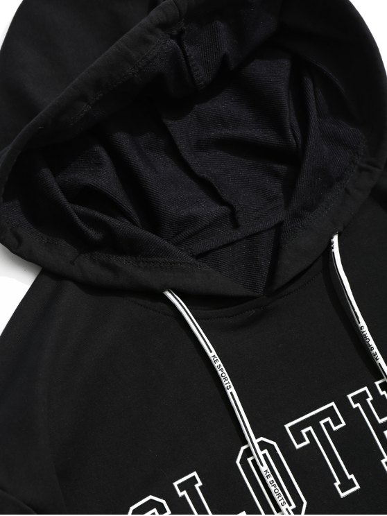 Hoodie Striped Xl Graphic Black Clothes OOqrgBwE