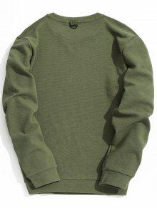 Verde 2xl Ejercito Sudadera Con Textura Hombre Para a6nnXOxw