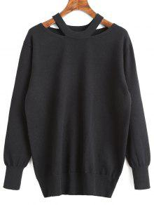 Pullover Tunique Pull Out - Noir Xl