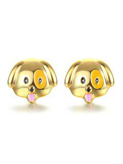 Puppy Stud Earring - Golden