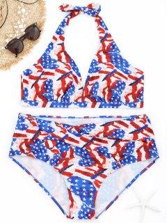 Star Plus Size Bikini Set - Xl