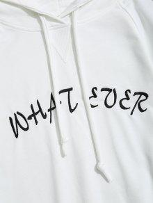 Ever S Graphic What Blanco Capucha De Sudadera Con qwEUXx07