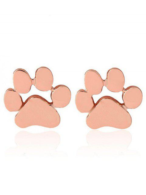 outfit Cute Puppy Claw Stud Tiny Earrings -   Mobile