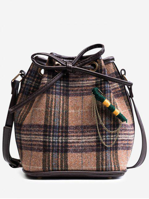 latest String Plaid Crossbody Bag -   Mobile