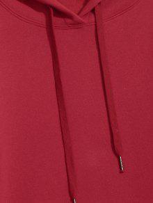 Rojo De De Con 2xl Canguro Polar Capucha Forro Bolsillo qUx5t0SX