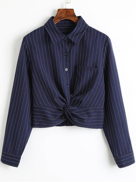 Twist recorta rayas camisa - Raya M