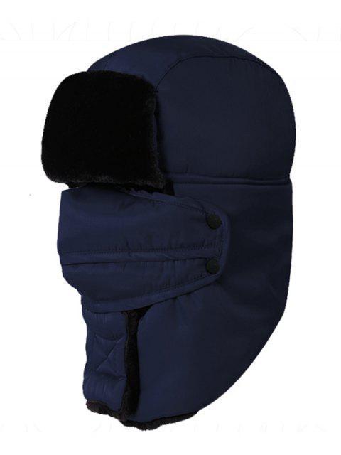 Bonnet de Trappeur d'Hiver Épais Imperméable pour Extérieur - Azuré  Mobile