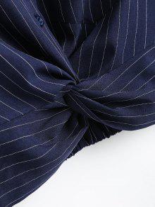 Camisa S Raya Rayas Recorta Twist wq4H76Fx