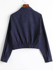 S Twist Camisa Recorta Rayas Raya xY1SqIf1