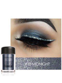 Polvo De Sombras De Ojos De Pigmento Suelto De Maquillaje Multifuncional - 18 #