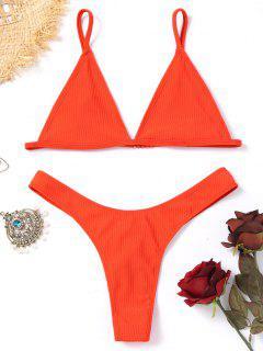 Conjunto De Bikini Tanga Sin Forro - Jacinto S