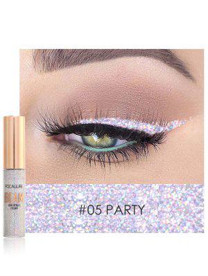 Ombre à Paupière Liquide Brillante Maquillage Multifonctionnelle Hautement Pigmentée