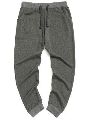 Pantalones de cordón casuales