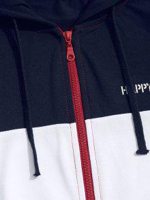 Up Zip Xl Hoodie Color Block E5fxIq5F