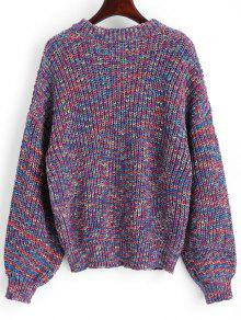 Chunky Sleeve Multicolor Sweater Lantern Multicolor qCxEvTdZw