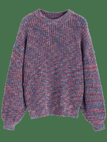 Chunky Sleeve Multicolor Sweater Lantern Multicolor qCxEvTdZw