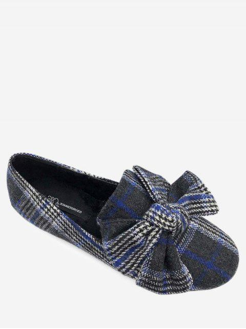 Ball Ball Tartan Tweed Ballerines - Bleu 40 Mobile