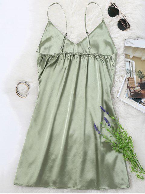 online Cami Mini Summer Dress - PEA GREEN XL Mobile