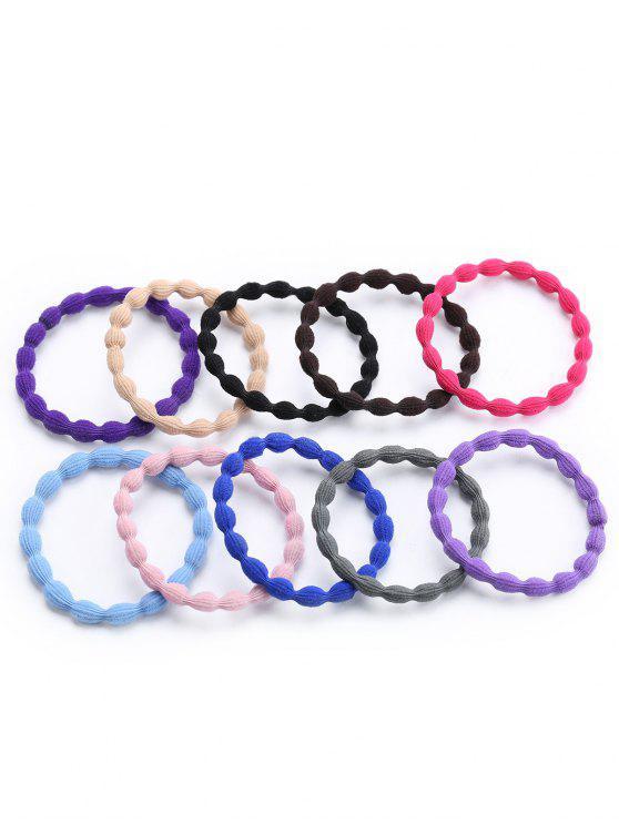 Ensemble de bandeaux élastiques - Multicolore