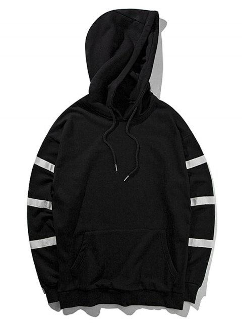 women's Graphic Pullover Hoodie - BLACK M Mobile