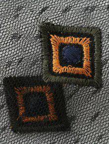 M Vea La A 233;s Apliques Negro Bordada Con Blusa De Trav nHHvrg