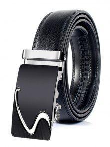 نمط الأعمال التلقائي مشبك حزام جلد الاصطناعي - 130cm