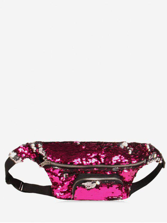 affordable Sequins Fanny Pack - TUTTI FRUTTI