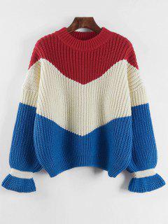 Kontrast Chunky Sweater - Beige (weis)
