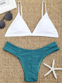Cutout Pad Bikini Set - White S