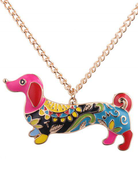 new Dachshund Pendant Necklace -   Mobile