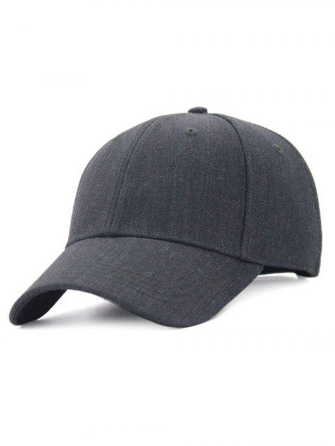 hot Line Embroidery Adjustable Baseball Cap - DEEP GRAY  Mobile