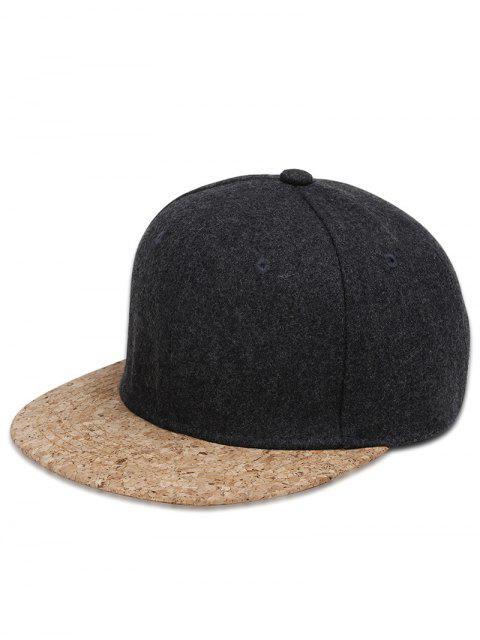 Gorra de Béisbol Ajustable de Estilo Hip Hop - Gris Oscuro  Mobile