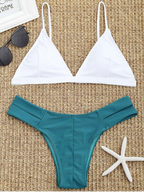 womens Cutout Pad Bikini Set - WHITE S Mobile