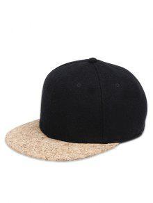 الهيب هوب نمط أجوستابل قبعة بيسبول - أسود