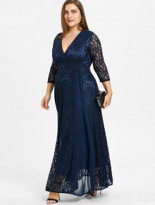 Plus Size Empire Dress