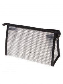 شبكة إيفا التجميل ماكياج للماء حقيبة - أسود