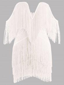 مهدب حمالة ضمادة اللباس - أبيض L