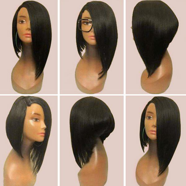 Medium Side Parting Asymmetric Straight Inverted Bob Synthetic Wig 243226501