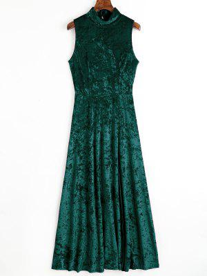 Green and White Formal Dresses