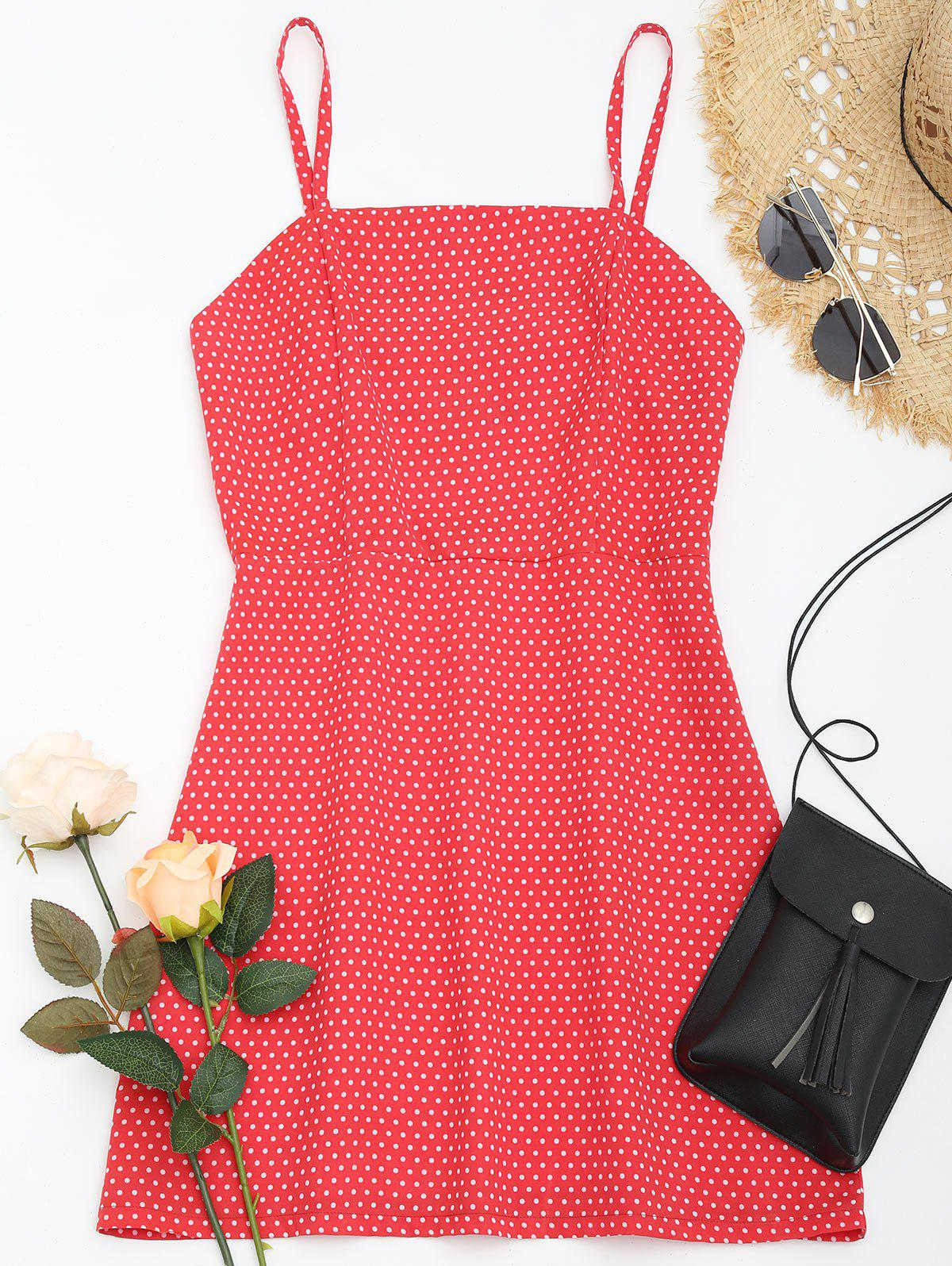 Polka Dot Cami Summer Dress 243078802